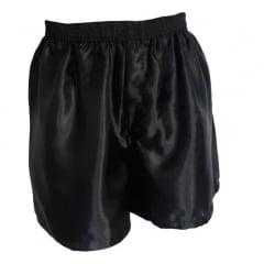 Samba Canção Short Cueca Masculino de Cetim  Adulto Plus Size