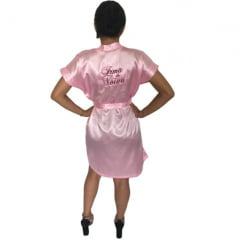Robe Cetim Feminino Bordado Personalizado Irmã da Noiva